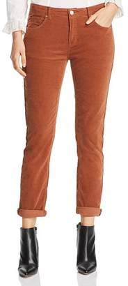MKT Studio The Birkin Straight Corduroy Jeans in Rust Orange