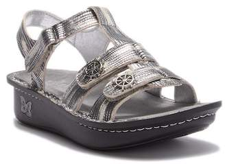 Alegria by PG Lite Wrapture Patent Wedge Sandal