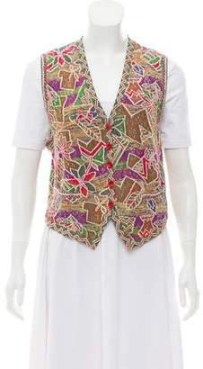 Missoni Patterned Knit Vest