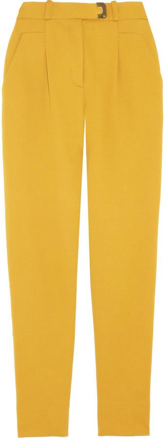Diane von Furstenberg Gibson high-rise twill pants
