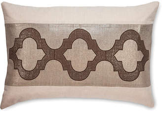 The Piper Collection CeeCee 16x24 Linen Pillow - Stone