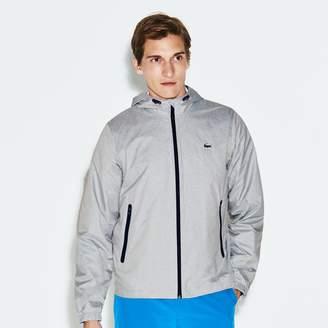 Lacoste Men's SPORT Metallic Zip Golf Jacket
