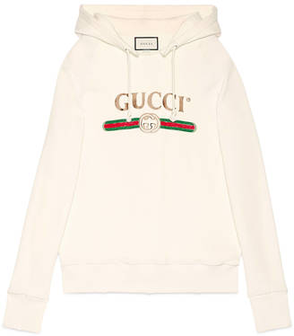 Embroidered hooded sweatshirt $2,600 thestylecure.com