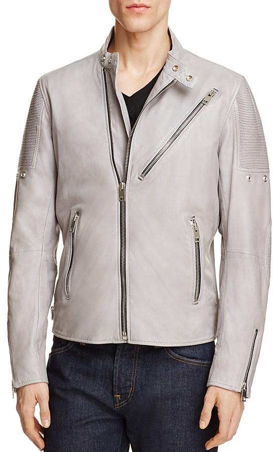 DieselDiesel Leather Moto Jacket