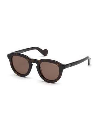 8e1831674ce Moncler Men s Round Acetate Universal Fit Sunglasses