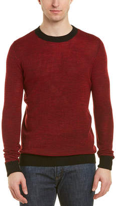 Antony Morato Wool-Blend Crewneck Sweater