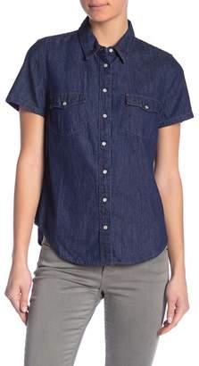 Levi's Larissa Short Sleeve Western Button Down Shirt