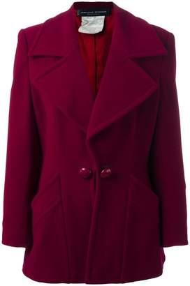 Jean Louis Scherrer Pre-Owned boxy jacket