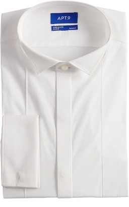 Apt. 9 Men's Slim-Fit Wing-Tip Collar Stretch Dress Shirt
