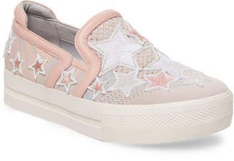 Ash Embroidery Platform Sneaker