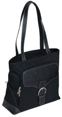 Bellino Travelwell BLACK RENDEZVOUS LADIES LAPTOP TOTE