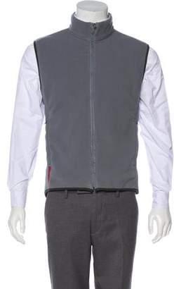 Prada Sport Zip-Up Sweater Vest