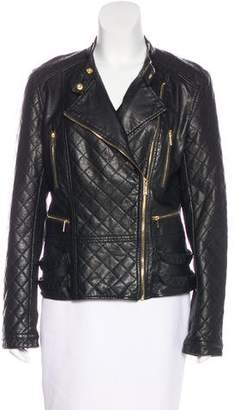 Calvin Klein Collection Quilted Zip-Up Jacket