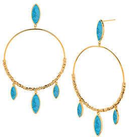 Gorjana Palisades Marquise Hoop Earrings