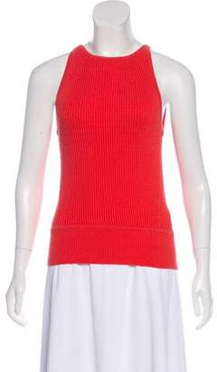 J Brand Sleeveless Rib Knit Top