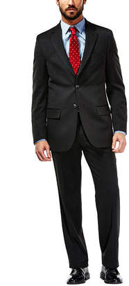 Haggar Travel Performance Heather Pinstripe Classic Fit Suit Jacket