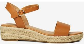 Dorothy Perkins Womens Tan 'Riana' Wedge Sandals