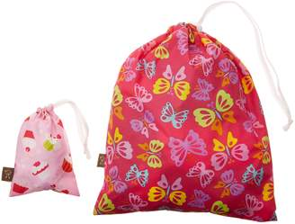 """Kushies C3008G """"On The Go"""" Wet Bag with Pacifier Pouch, Girl/Print May Vary"""