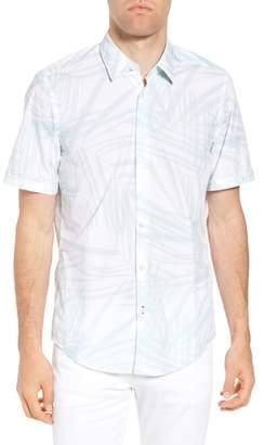 BOSS Luka Regular Fit Short Sleeve Sport Shirt