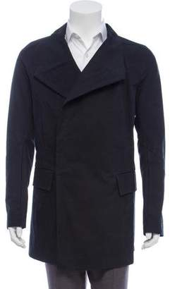 Rick Owens Woven Button-Up Jacket