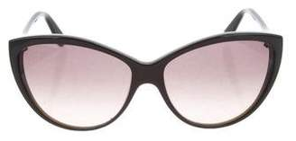 Alexander McQueen Oversize Cat-Eye Sunglasses