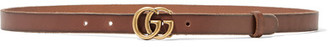 Gucci - Leather Belt - Brown $330 thestylecure.com