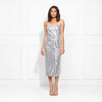 82d21c6996f Rachel Zoe Krista Strapless Fluid Sequin Midi Dress
