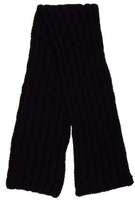 Ralph Lauren Wool & Cashmere Rib Knit Scarf