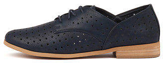 I Love Billy New Quincey Navy Womens Shoes Casual Shoes Flat