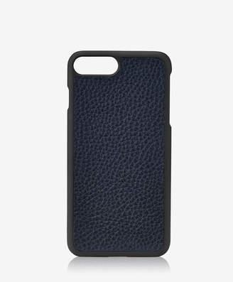 GiGi New York iPhone 7 Plus Hard-Shell Case, Black Pebble Grain