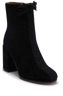 Bettye Muller Sadie Suede Block Heel Boot