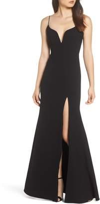 Jill Stuart Plunge Sweetheart Gown