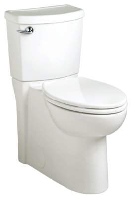American Standard Cadet 3 FloWise Elongated Two-Piece Toilet with Gravity Flush (Seat Included)