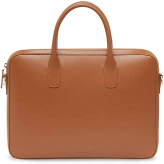 Mansur Gavriel Calf Small Briefcase - Saddle