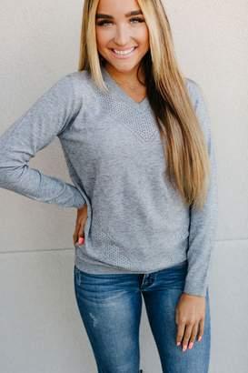Ampersand Avenue Quinn Sweater - Grey