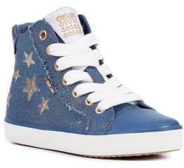 Geox Kilwi High Top Zip Sneaker