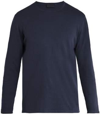 Altea Linen-blend long-sleeved T-shirt