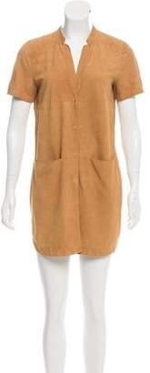 Lafayette 148 Suede Mini Dress