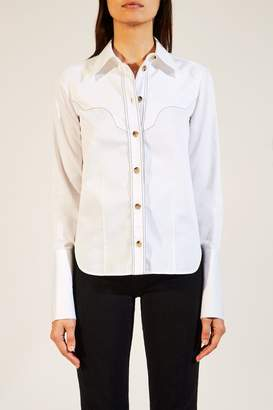 Dena Khaite The Top In White