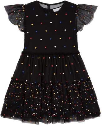 Stella McCartney Karina Tulle Polka Dot Dress