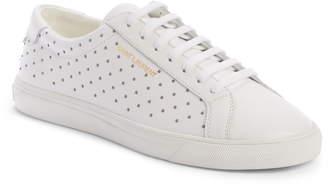 Saint Laurent Andy Studded Sneaker