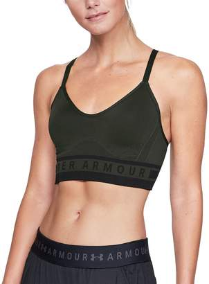 Under Armour Seamless Longline Sports Bra - Women's