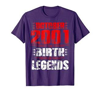 2001 OCTOBER The Birth Of Legends Aged 17 Years Old Awesome