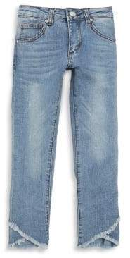 Joe's Jeans Girl's Mid-Rise Distressed Jeans