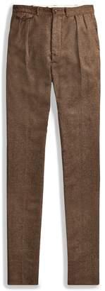 Ralph Lauren Windowpane Wool-Cotton Pant
