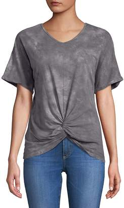 C&C California Women's Knotted Front-Tie Tops