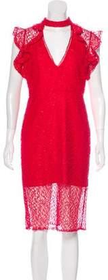 Alexis Midi Lace Dress