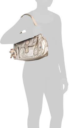 Felix Large Multi Pocket Nylon Satchel