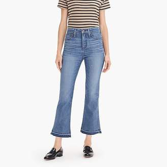 """Point Sur 10"""" high-rise demi-boot jean with let-down hem"""