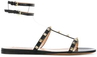 Valentino Moonwalk Rockstud slides